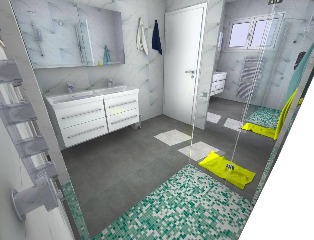 Salle d eau carrelage imitation marbre libourne vente for Carrelage salle de bain imitation marbre